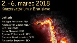 SAXOPHOBIA 2018 – Prihláška