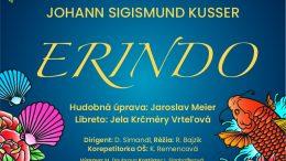 Premiéra operného štúdia – opera Erindo